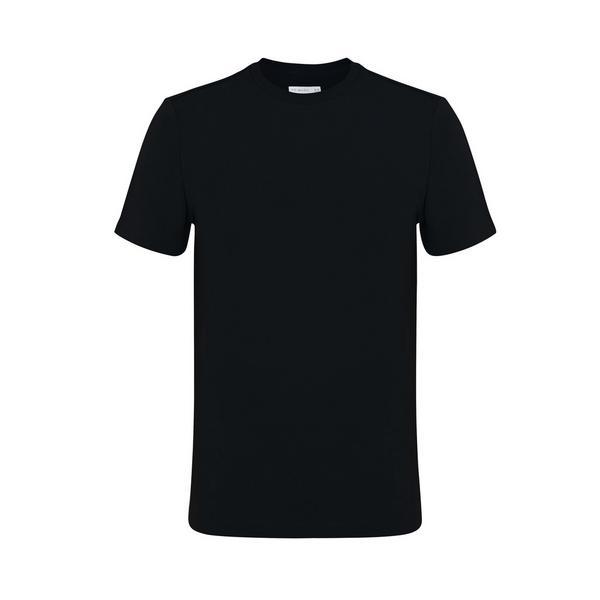 Schwarzes, elegantes T-Shirt