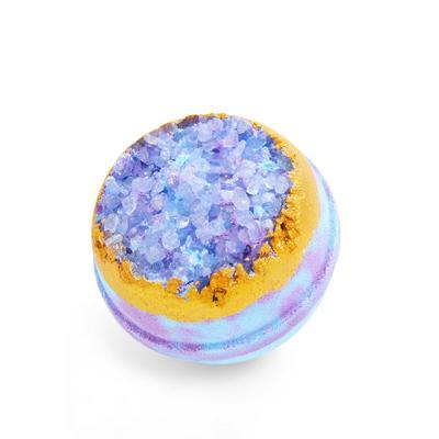 Bomba de baño de cristales azules de PS