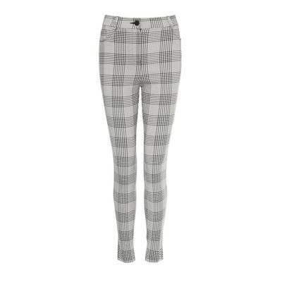 Monochrome Check Pocket Trousers