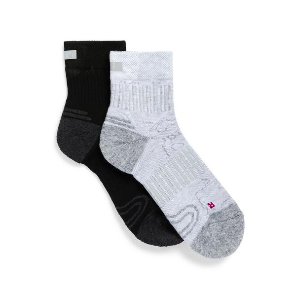 Mixed Track And Train Cycle Socks 2 Pack