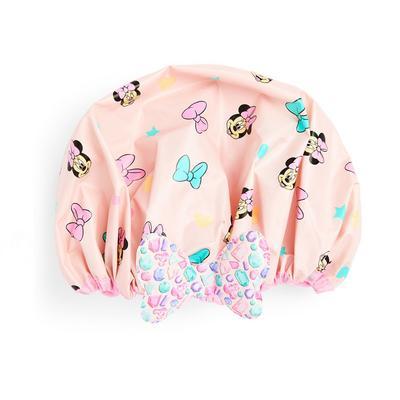 Cuffia da doccia rosa Minnie Disney
