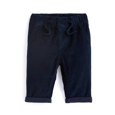 Marineblaue Cordhose für Babys (J)