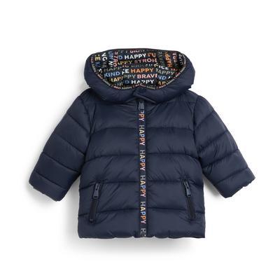 Stacey Solomon Baby Boy Navy Padded Jacket