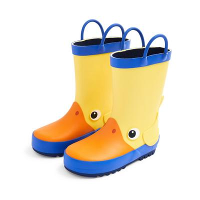 Yellow Duck Rain Boots