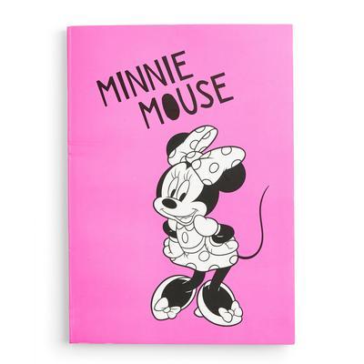 Pink Disney Minnie Mouse Soft A5 Notebook