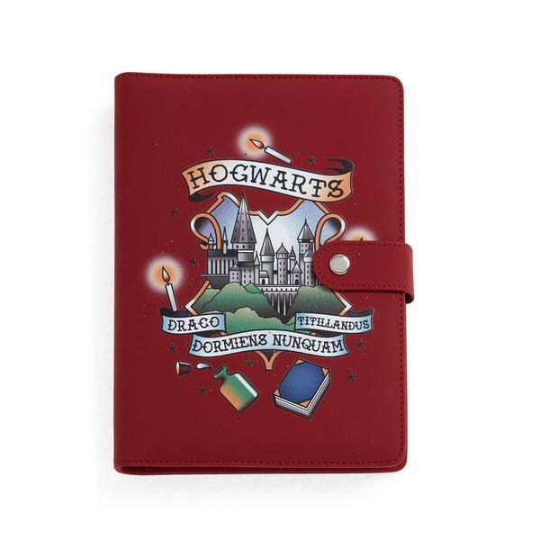 Agenda de poche rouge Harry Potter