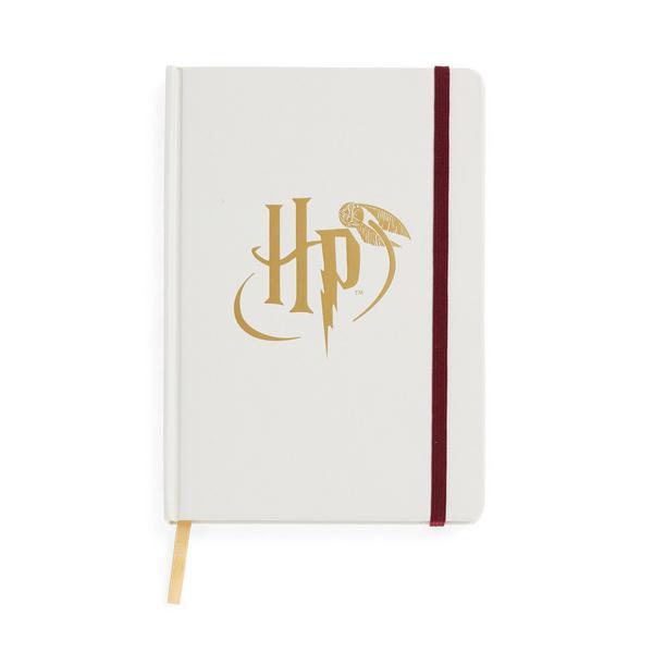 Cuaderno duro blanco de Harry Potter A5