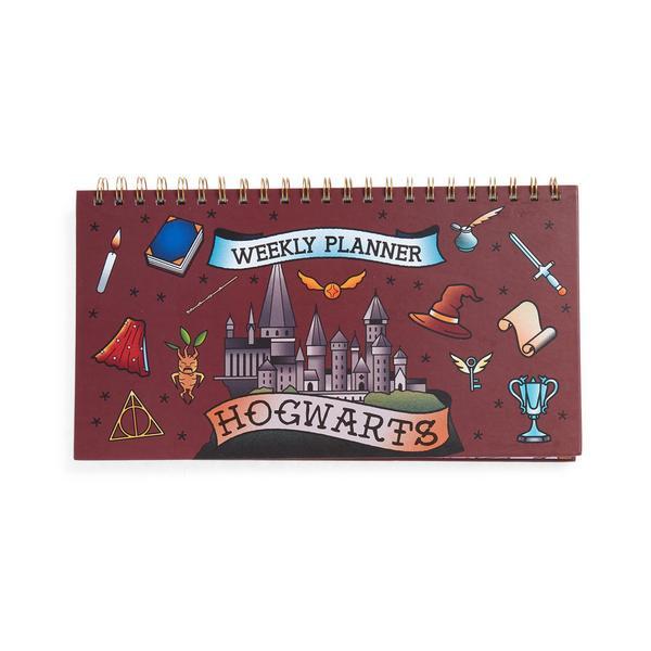 Agenda hebdomadaire Harry Potter