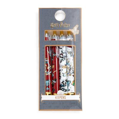 Mixed Harry Potter Pens 4 Pack