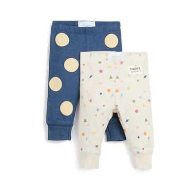 Stacey Solomon Baby Girl Print Leggings 2 Pack
