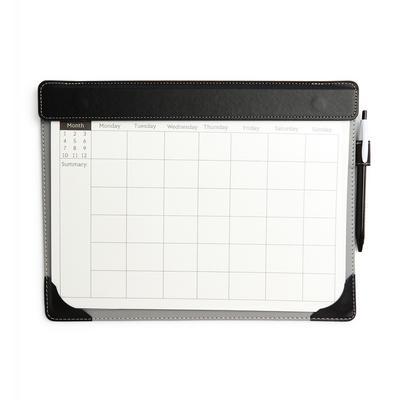 Black Weekly Desk Planner Memo Pad