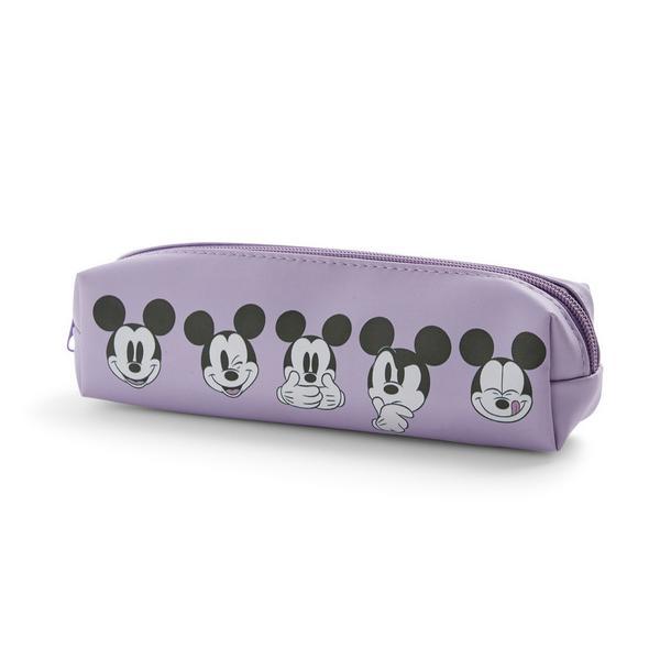Purple Mickey Mouse Pencil Case