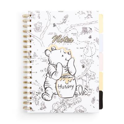 Winnie The Pooh B5 Tab Notebook