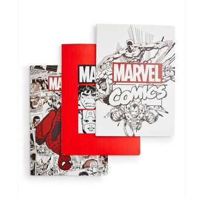 Pack de 3 cuadernos A4 de Marvel
