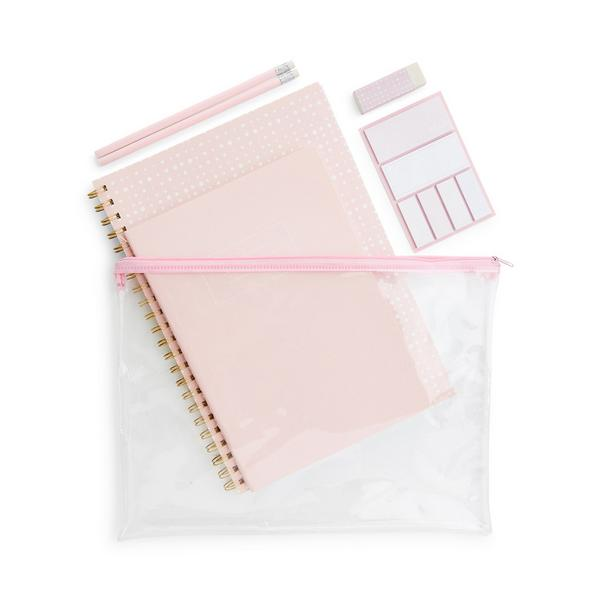Pink A4 Bumper Stationery Pack