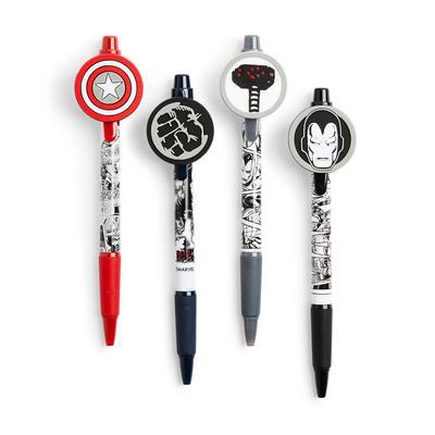 4-Pack Marvel Pens
