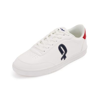 White Penn Cup Sole Trainers