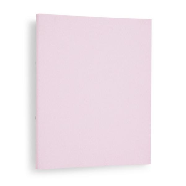 Carpeta rosa con anillas