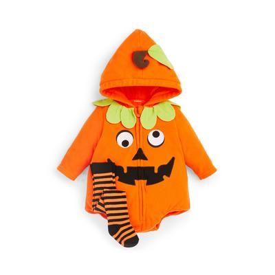 Baby Orange Halloween Pumpkin Pram Suit