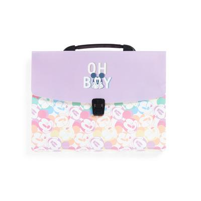Pastel Disney Mickey Mouse Folder