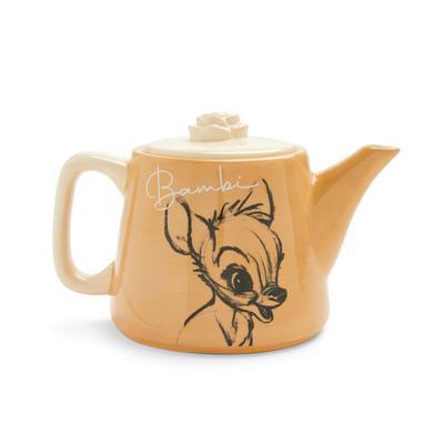 Beige Disney Bambi Teapot