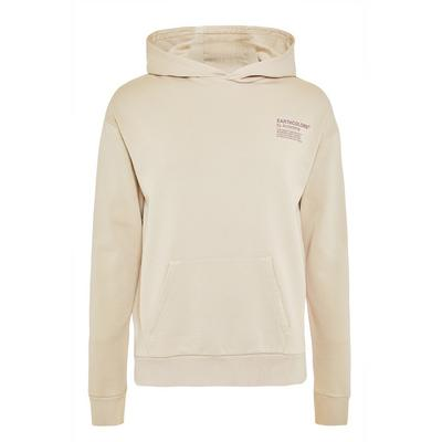 Primark Cares Beige Organic Cotton Earthcolors By Archroma Overhead Hoodie