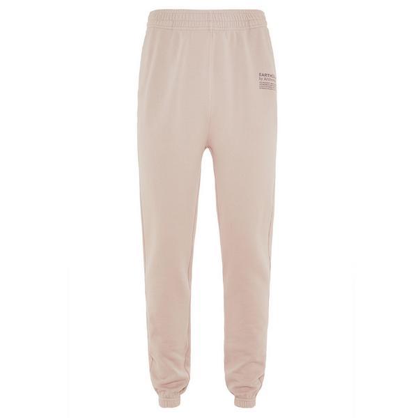 Pantalon de jogging rose poudré en coton biologique Earthcolors by Archroma, Primark Cares