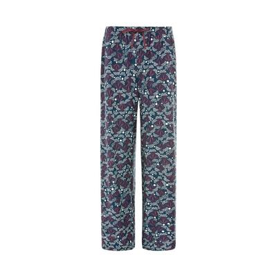 Navy/Carbon Sparkler Print Tie Waist Leggings