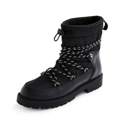 Black Great Outdoors Snow Boots