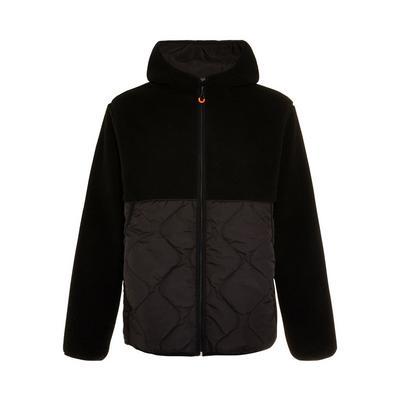 Great Outdoors Black Hybrid Fleece Jacket