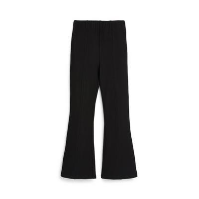 Older Girl Black Flare Trousers