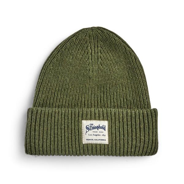 Olive Stronghold Beanie Hat
