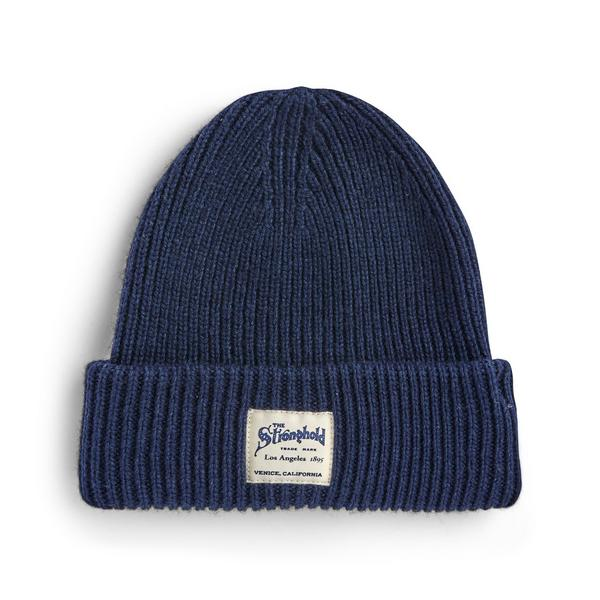 Navy Stronghold Beanie Hat