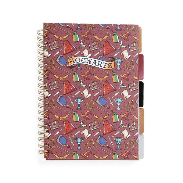 """Harry Potter"" B5-Notizbuch mit Registerkarten"