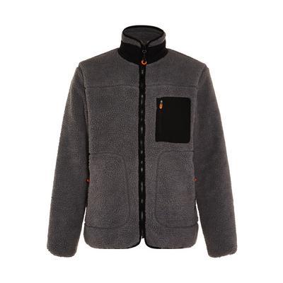Great Outdoors Charcoal Teddy Zip Up Fleece Jacket
