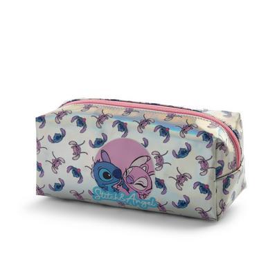Blue Disney Lilo And Stitch Pencil Case