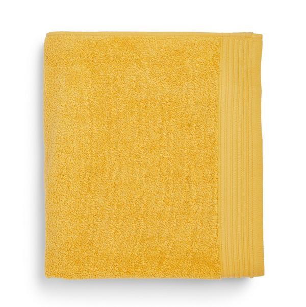 Asciugamano giallo ultra large