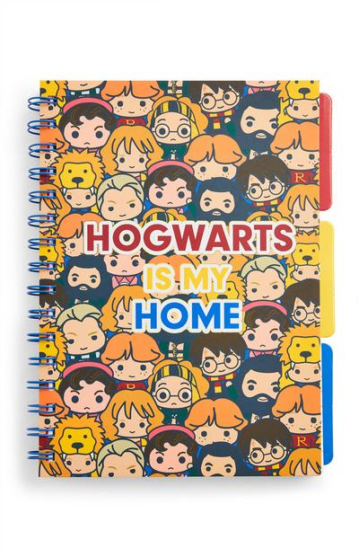 Quaderno A5 con linguette divisorie Hogwarts Harry Potter