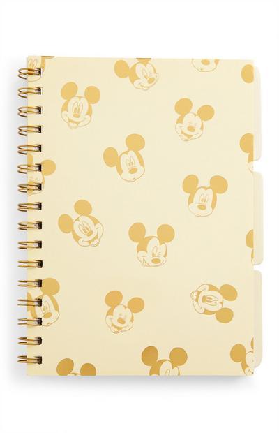 Quaderno A5 con linguette divisorie Topolino Disney