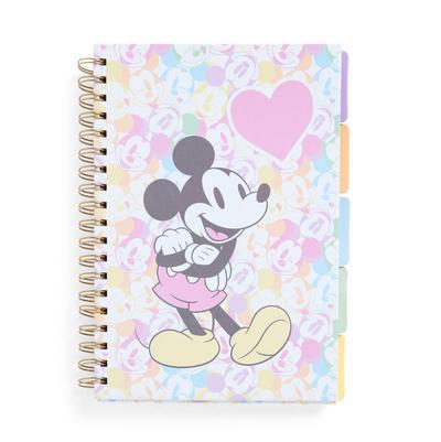 Pastel Disney Mickey Mouse Tab Notebook B5