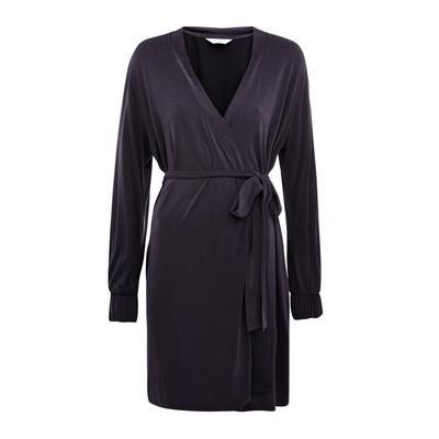 Charcoal Modal Robe