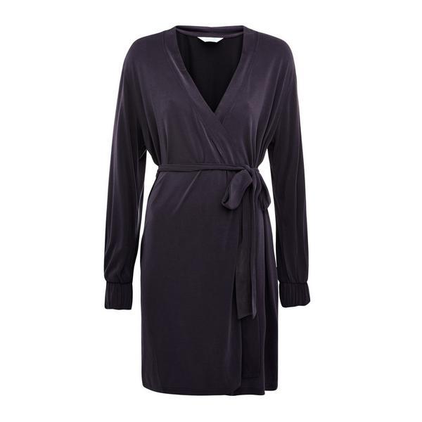 Temno siva halja iz modala