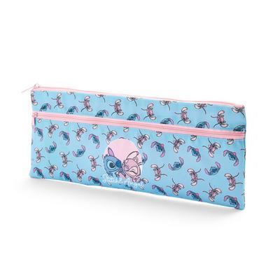 Lang blauw etui Lilo & Stitch
