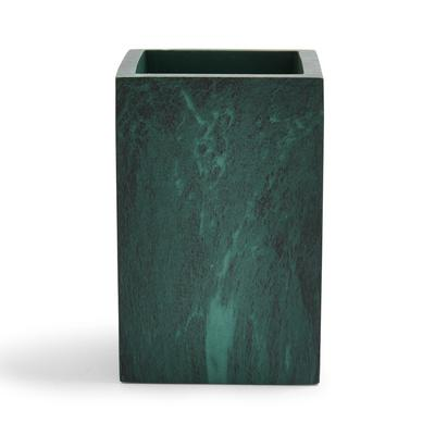 Green Marble Square Tumbler