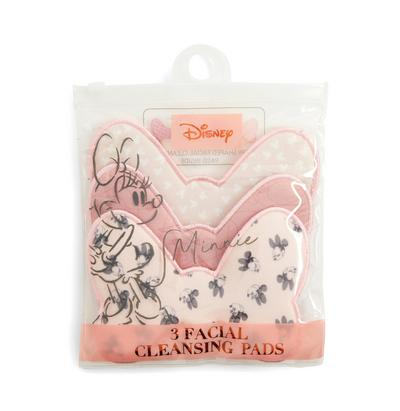 Pink Disney Minnie Mouse Cleansing Cloths 3 Pack