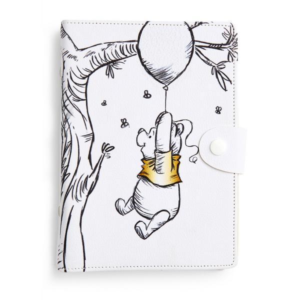White Winnie The Pooh Planner