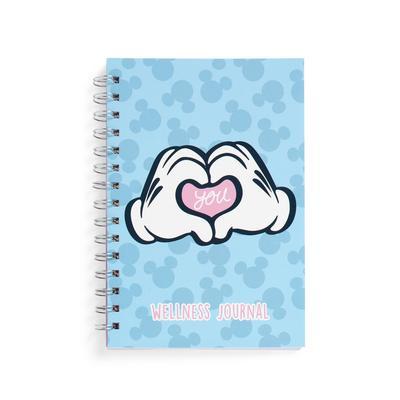 Blue Mickey Mouse Wellness Journal