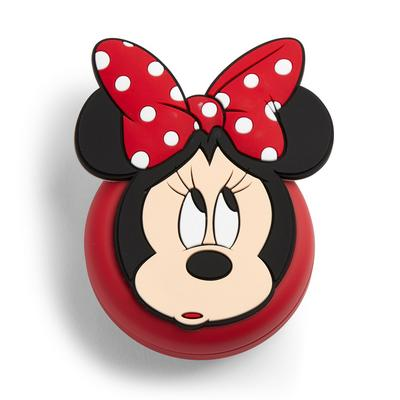 Red Minnie Mouse Folding Mirror Brush