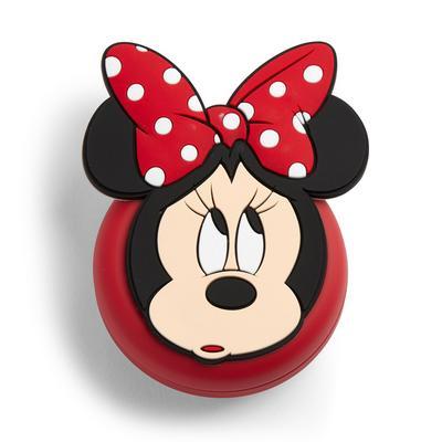 Rode inklapbare Disney Minnie Mouse-borstel met spiegel