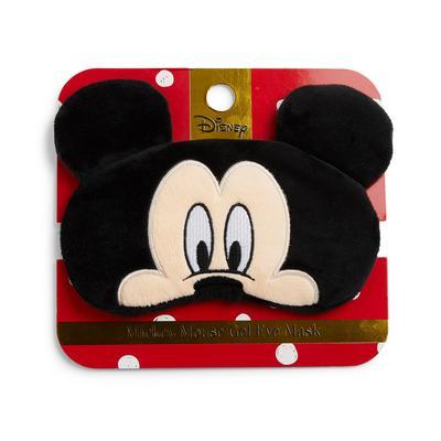 Zwart Disney Mickey Mouse-oogmasker met gel